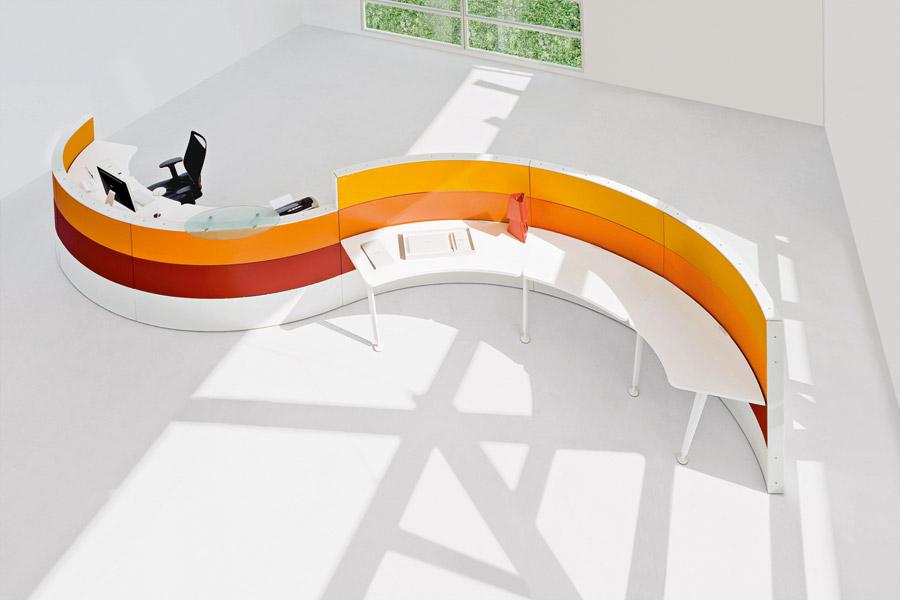 Arredi recepion ufficio mobili banconi reception ufficio for Mobili da reception