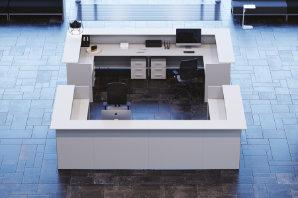 mobili reception ufficio